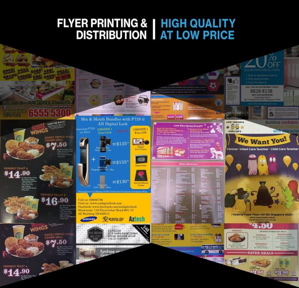 Printing & Distribution Packages 1