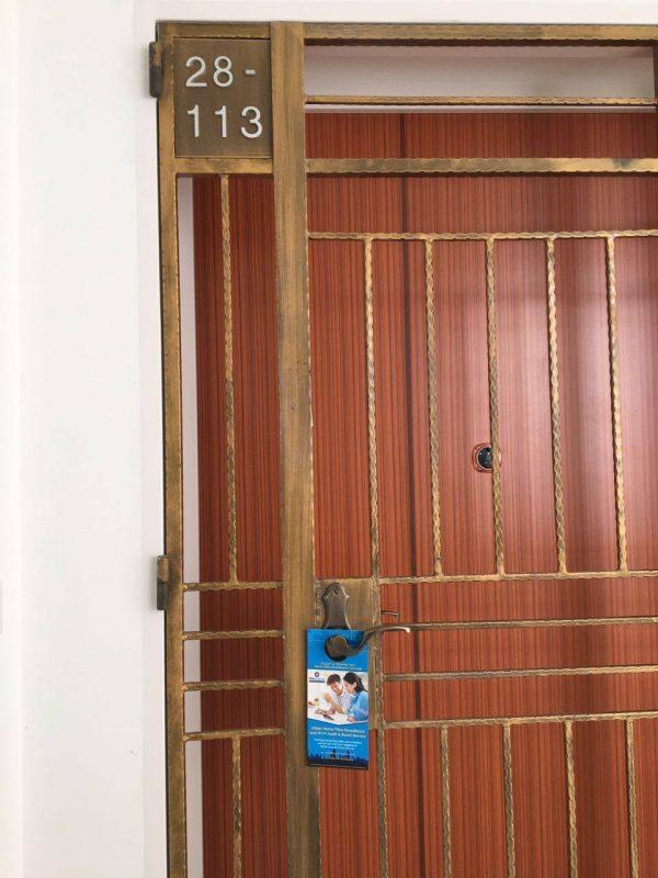 BTO Door to Door Distribution 5